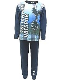 Ages 4-12 Tottenham Hotspur Football Club Kids Childrens Boys Girls 2 Piece PJ THFC Pyjama Set