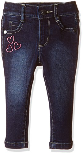 United Colors of Benetton Baby Girls' Jeans (16A4DGB5720PI9010Y_Dark Blue_0Y)