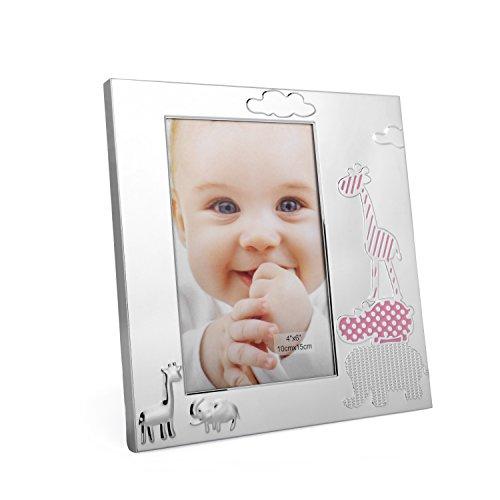 Bilderrahmen, Fotorahmen Baby für Mädchen mit tollen Tiermotiven