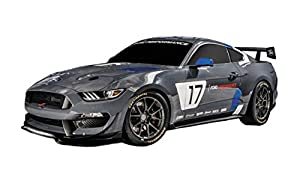 Mondo- Global Mustang GT4 vehículo teledirigido, Color Gris/Negro, 63544