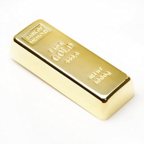 aricona 16 GB USB Stick in Goldbarren Metall Form -