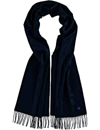 FRAAS Men's Plain Scarf Blue dark blue One size