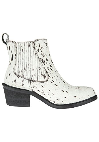 MARUTI Damen Schuhe HALEY HAIRON LEATHER storm white black