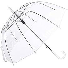 Paraguas Cúpula Transparente Mujer. Paraguas Vogue Burbuja Infantil, Paraguas Original Largo, ...
