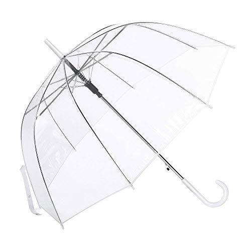 Paraguas Cúpula Transparente Mujer. Paraguas Burbuja