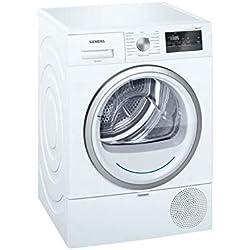 Siemens iQ300 WT45RV01FF sèche-linge Autonome Charge avant Blanc 8 kg A++ - Sèche-linge (Autonome, Charge avant, Condensation, Blanc, Rotatif, Tactil, Droite)