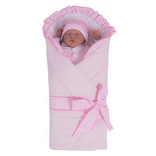 Sevira Kids - Gigoteuse d'emmaillotage Multi-Usage en 100% coton certifié - Nid d'ange naissance ROYAL, différent coloris