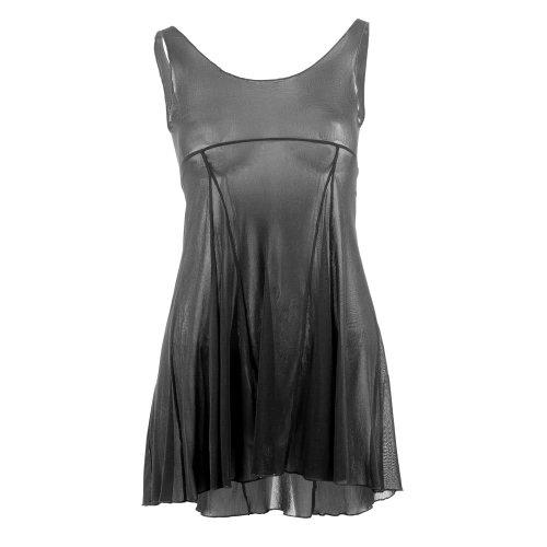 Bloch Z2917 BLACK Emerge Mesh Dress Size Small Mesh-overdress