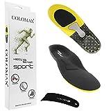 COLOMAX - Sport - Einlegesohlen ideal für Sport und Alltag - Optimale Dämpfung - Maximaler Halt - Für Damen & Herren (43-46 EU/L) - von COLOMAX