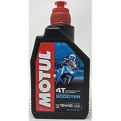 Aceite Moto 4 Tiempos - Motul Scooter 4T 10W-40, 1 Litro