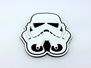 Stormtrooper Casque Blanc Star Wars PVC Airsoft Fan Patch