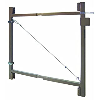 Adjust-A-Gate AG 36-36 2-Rail Contractor Quality Gate Kit, 36-Inch to 60-Inch by 36-Inch Height by Adjust-A-Gate
