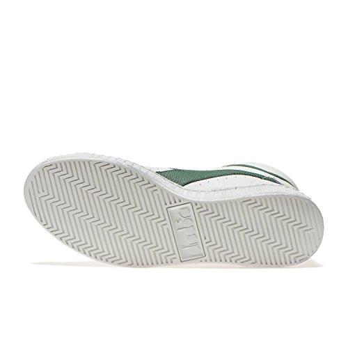 Diadora Game L High Waxed, Sneaker a Collo Alto Uomo C1161 - BIANCO-FOGLIAME