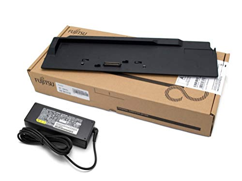 ipc-computer Fujitsu Docking Station inkl. 80W Netzteil für Fujitsu LifeBook E756 Serie