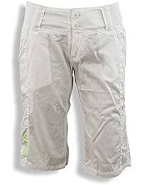 Bench Short/Bermuda Ribstar, blanc