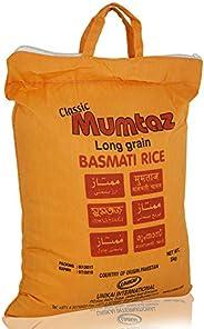 Mumtaz Classic Long Grain Basmati Rice, 5 Kg
