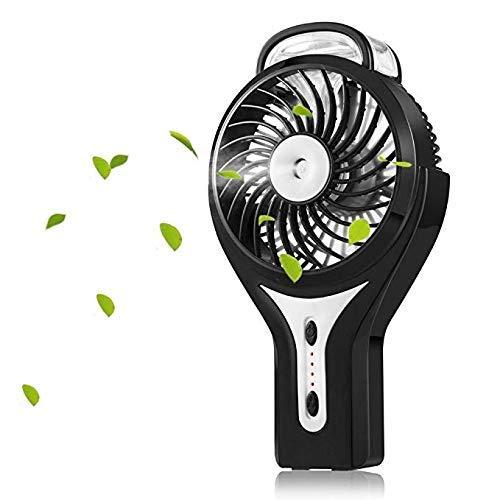 YZ-YUAN USB-Lüfter , Super leiser, persönlicher Kühlung Mini-Handheld-Misting-Lüfter Home Lüfter für Heimbüro und Reisen Programmierbare Handheld