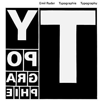 Typographie - Typography: Un manuel de Création - A manual of design  Allemand/Anglais/Français