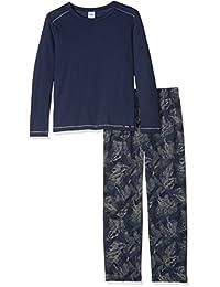 Skiny Jungen Zweiteiliger Schlafanzug Independent Sleep Pyjama Lang