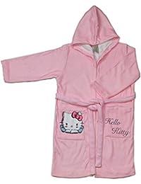 Hello Kitty Angels Albornoz Infantil, Talla 4 Microfibra, Unico 33x23x1 cm
