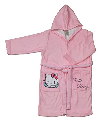 Hello Kitty Angels - Albornoz Infantil, Talla 6/8