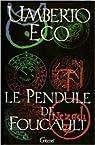 Le Pendule De Foucault de Eco Umberto ( 1 janvier 1990 ) par Eco