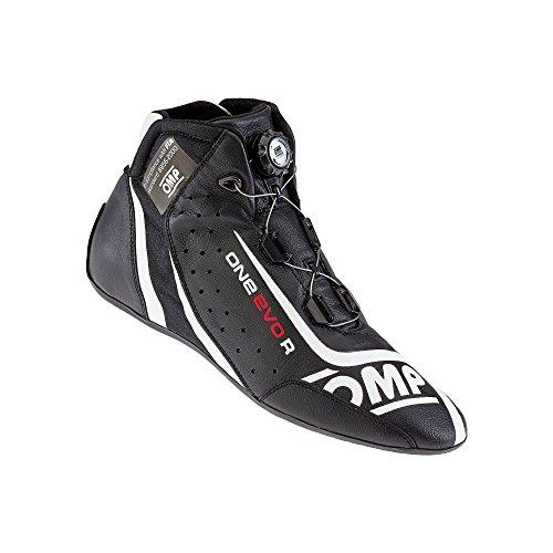 Omp ompic/80507141One Evo R Sneaker OMP schwarz Gr. 41 (Omp Schuhe Racing)