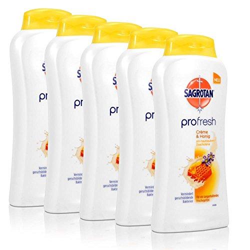 5x-sagrotan-profresh-duschcreme-creme-honig-250-ml