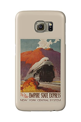 New York Central - Empire State Express Vintage Poster (artist: Ragan) USA c. 1941 (Galaxy S6 Cell Phone Case, Slim Barely There)