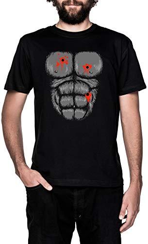 Mens Gorilla Kostüm Tshirt - Harambe Halloween Kostüm - Schuss Gorilla