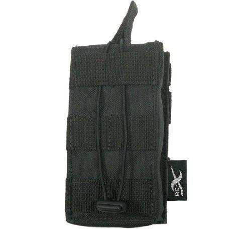 BE-X Offene Magazintasche für CQB, für MOLLE, für 1 G36 Magazin - schwarz (Cqb-magazin)