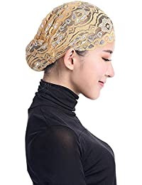 Subfamily TC303 Sombrero Musulmán Todo Incluido de Encaje para Mujer Moda  Casual Primavera y Verano de 4015bd3084a