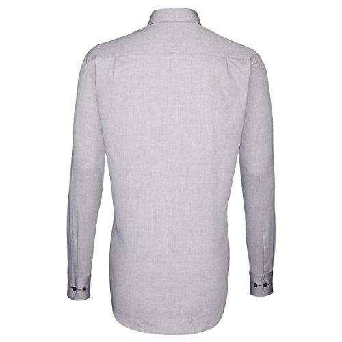 Seidensticker -  Camicia classiche  - Basic - Classico  - Uomo Marrone