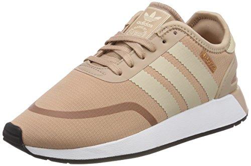 adidas Iniki Runner CLS W, Scarpe da Ginnastica Basse Donna, Viola (Ash Pearl/Linen/Footwear White), 37 1/3 EU