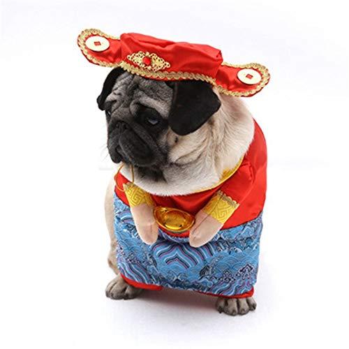 yu pet Dog verwandelte Sich in EIN neues Jahr, der Gott der Stand - up - Kleider der Block der aufrechte Kleider - Neues Jahr Dog Kostüm