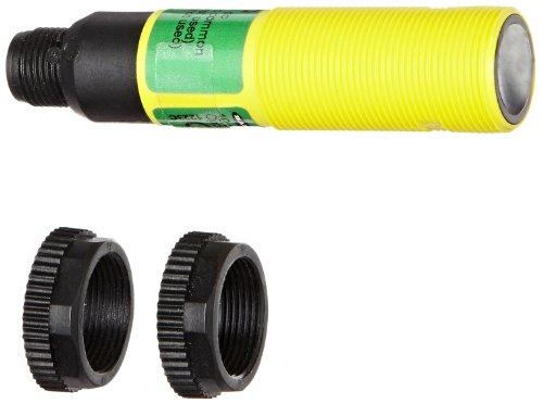 Banner S18SP6RQ EZ Beam barrel-style Empfänger, gegen Sensing Modus, Pin euro-style QD Steckverbinder mit, Infrarot-LED, 10-30VDC, PNP AUSGANG, 20m Sensing Serie -