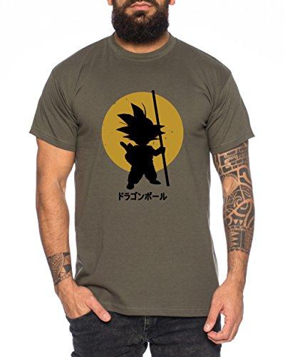 WhyKiki Goku Sun Son One Dragon Master Son Ball Gym Vegeta Roshi Piece Golds Men's T-Shirt