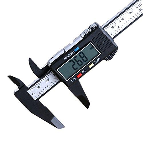 JoyFan LCD Digital elektronische Carbon Messschieber, Advanced Mess-Werkzeug mit Präzision Messungen, 15,2cm/150mm