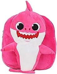 Babyfit Babyshark Kids School Backpack Baby Shark Nursery Preschool Bag for Children Kids Cute Plush School Ba