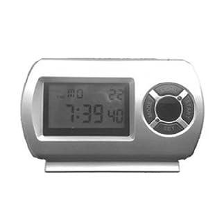 agente007-Alarm Clock Spy Full HD 1080p Motion Detection Night Vision Professional