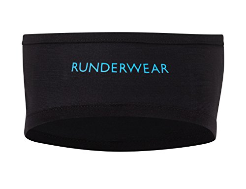 Runderwear Running and Cycling Headband with Reflective Pocket