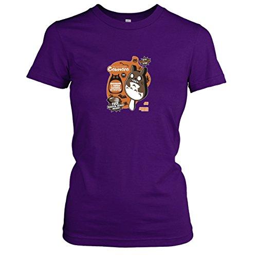 Texlab - Cold Toro - Damen T-Shirt, Größe XL, Violett (Mei Kusakabe Kostüm)