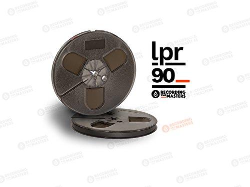 BASF LPR90 0,64 cm 1800' 549 m 17,8 cm Kunststoffrolle Dreizack Scharnierbox RMG/EMTEC Studio Mastering Tape ()