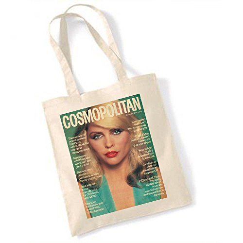1978 Cosmopolitan Debbie Harry Blondie 'Magazine pour Totebag