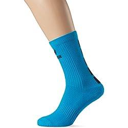 Erima 5-CUBOS calcetín curacao / negro, Opciones Tamaño: 46L, Mujeres
