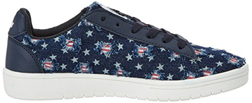 Lico Center, Sneakers basses fille Blau (Marine/Rot)
