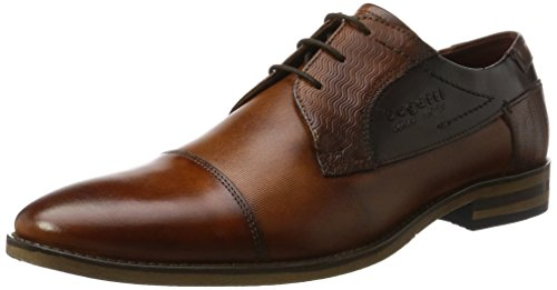 bugatti-mens-312164031111-derby39s-brown-cognac-bordo-105-uk