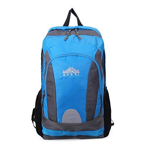 Bulage Borse Escursioni Nylon Sport Zaini Multi-purpose Studenti Borse Scuola Uomini E Donne Spalle Camping Viaggi Impermeabile Esterna Blue