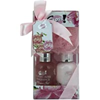Santo regalo Anticipazione set comprende Eau de Toilette Spray (30 ml), crema per il corpo (Gloss Spray)