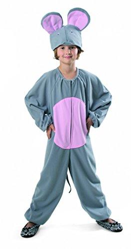 Maus Kostüm Plüsch De Luxe Kinder Fasching (Jerry Maus Kostüme)